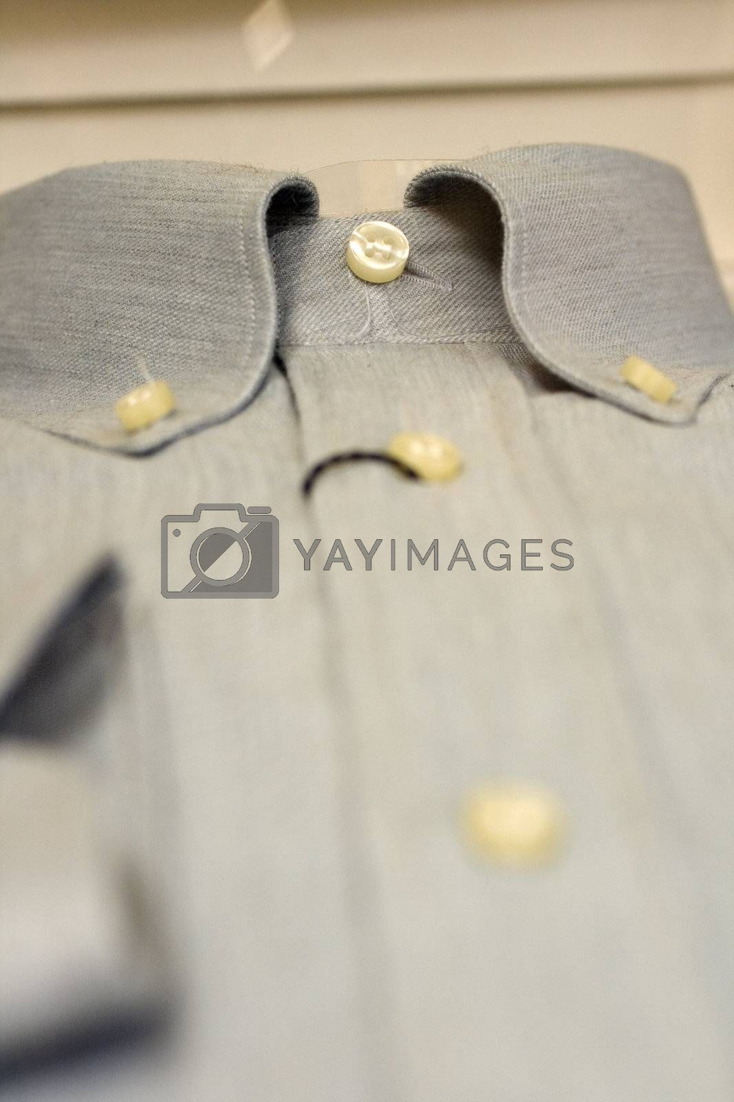 dress shirt in jeans, Made in italy