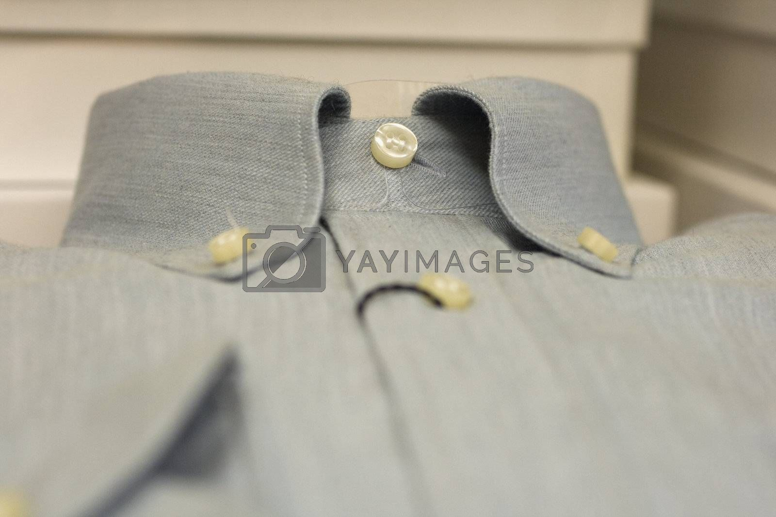 dress shirt in jeans
