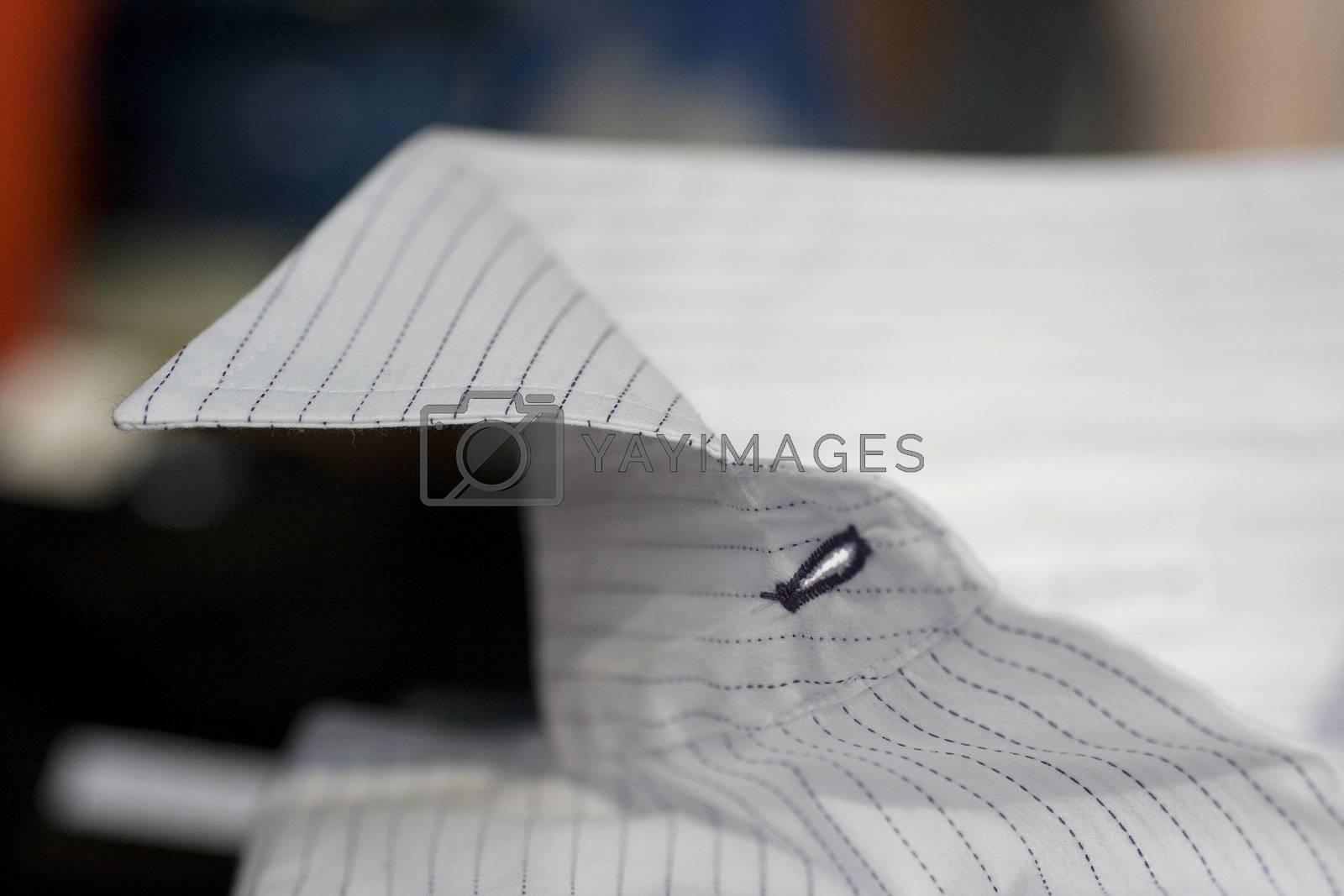clothing of white dress shirt