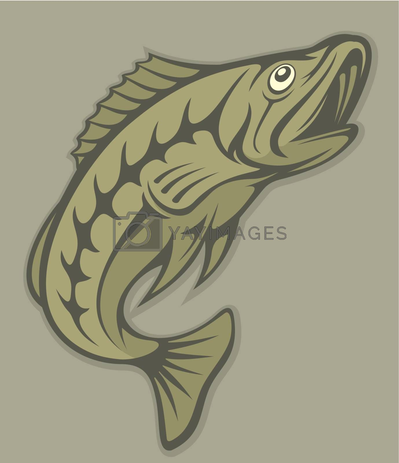 Fish lineart by sifis