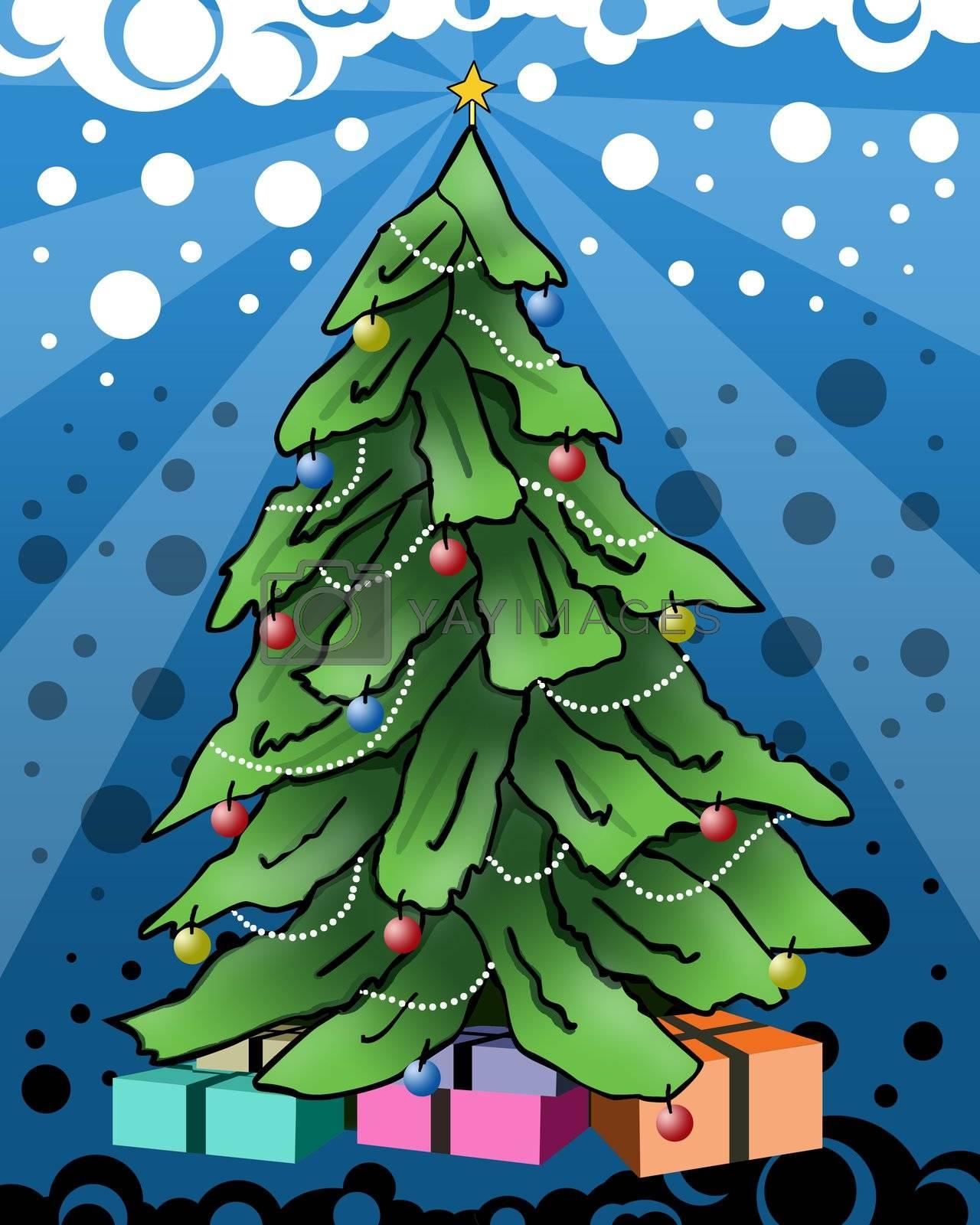 Christmas Tree by 3pod