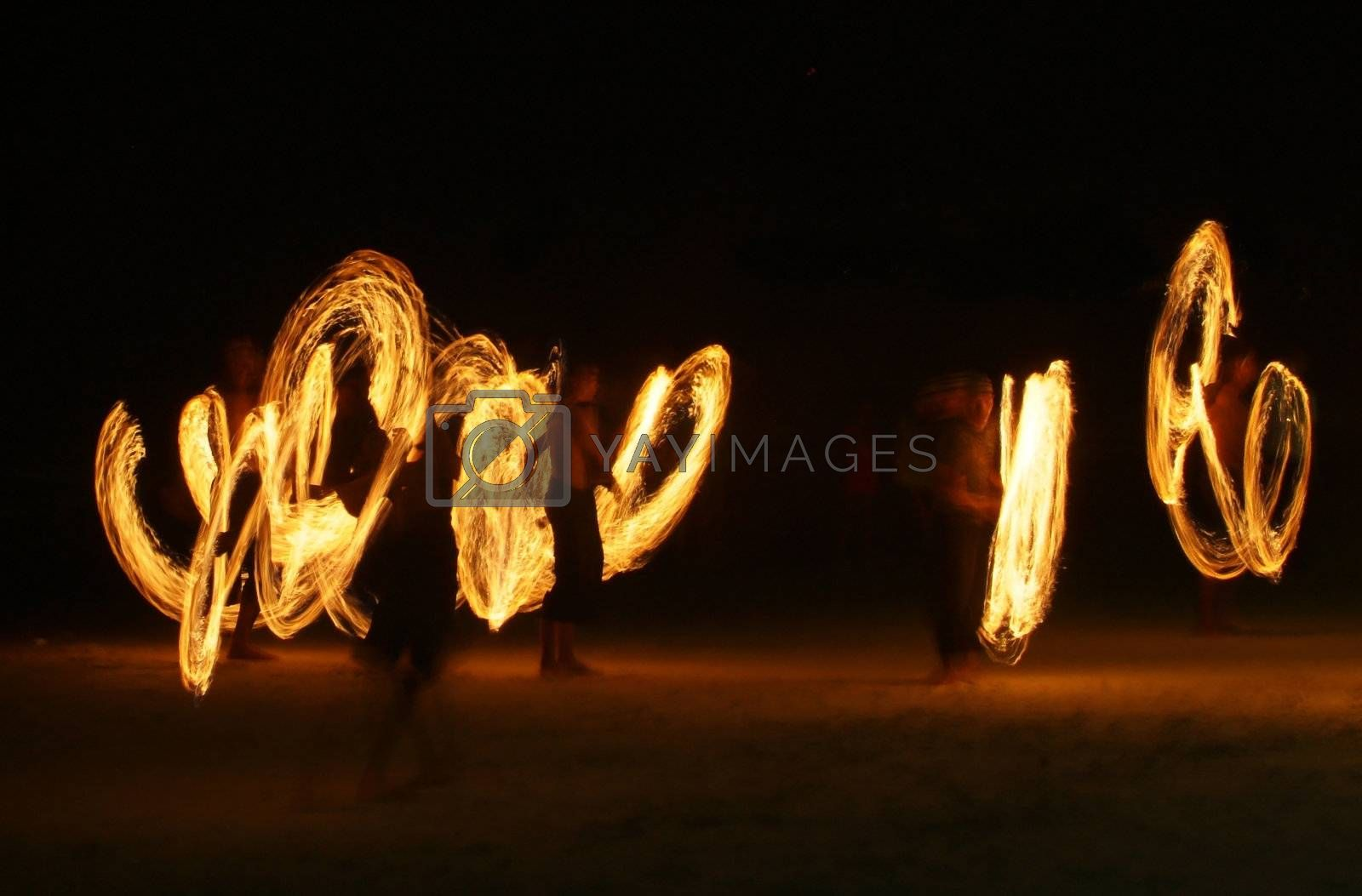 Flame jugglers by epixx