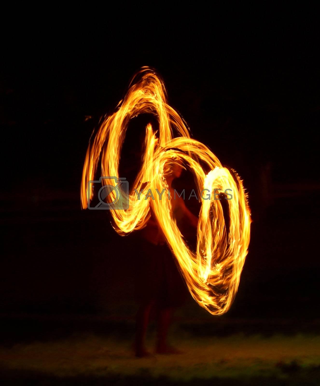 Flame juggler by epixx