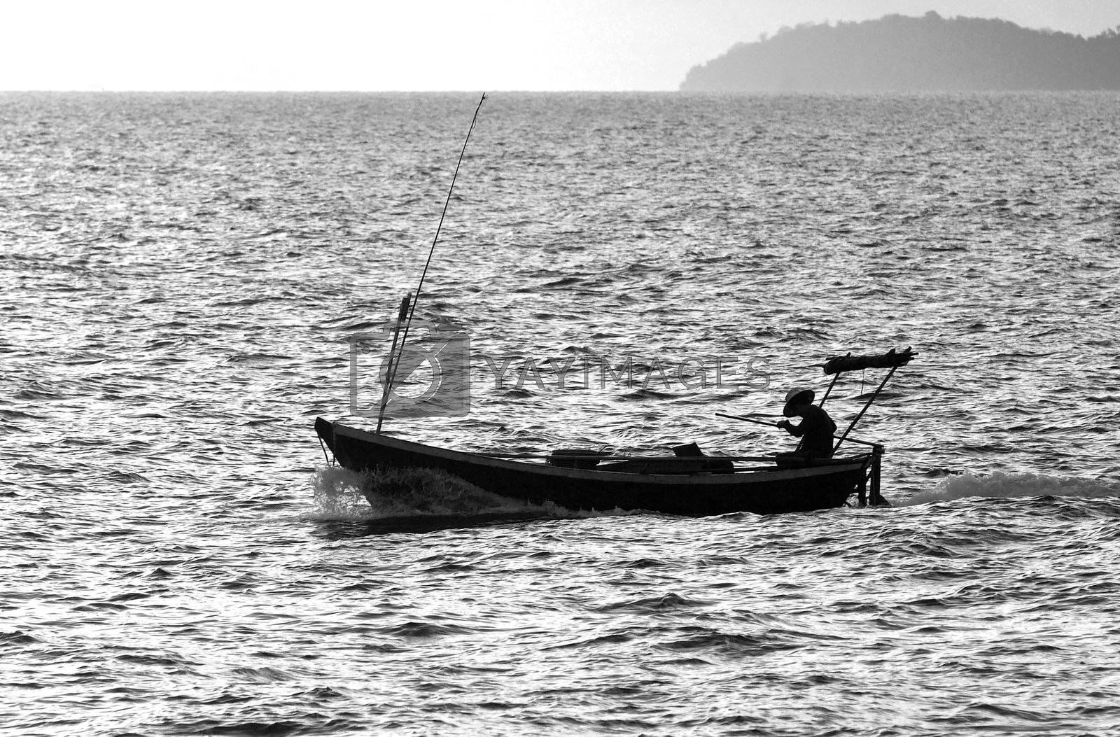 Fishing boat by epixx