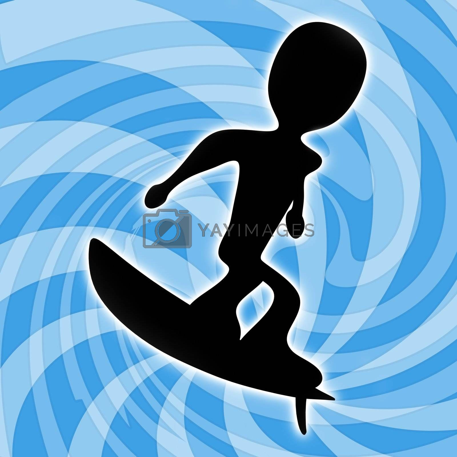 Surfing by 3pod
