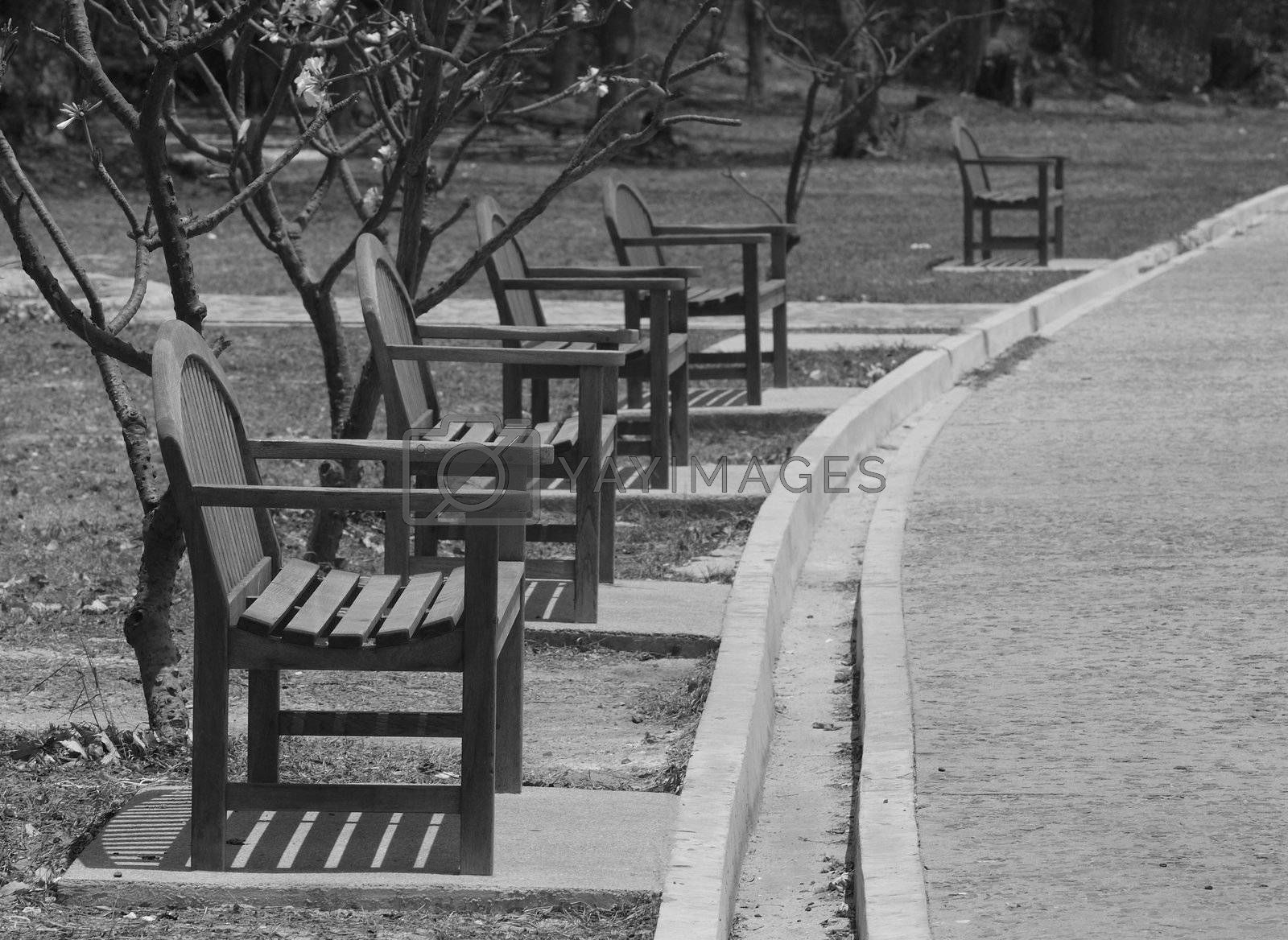 Empty chairs by epixx