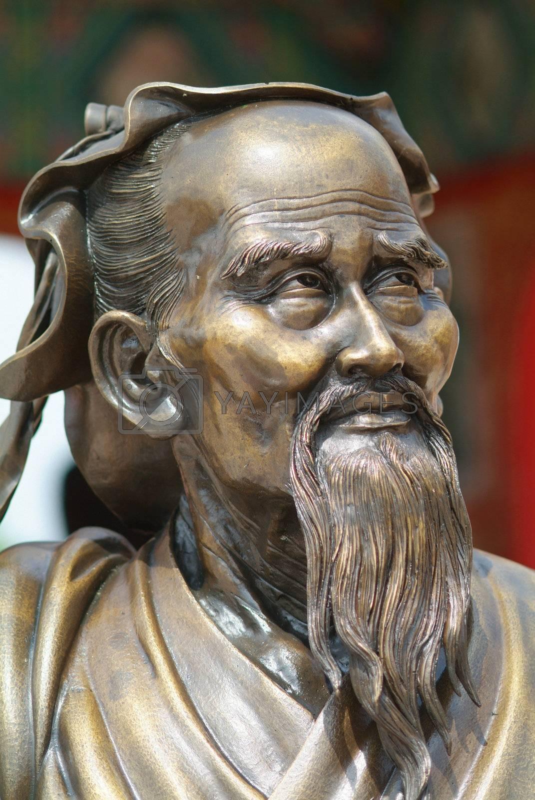 Sculpture of a wise man by epixx