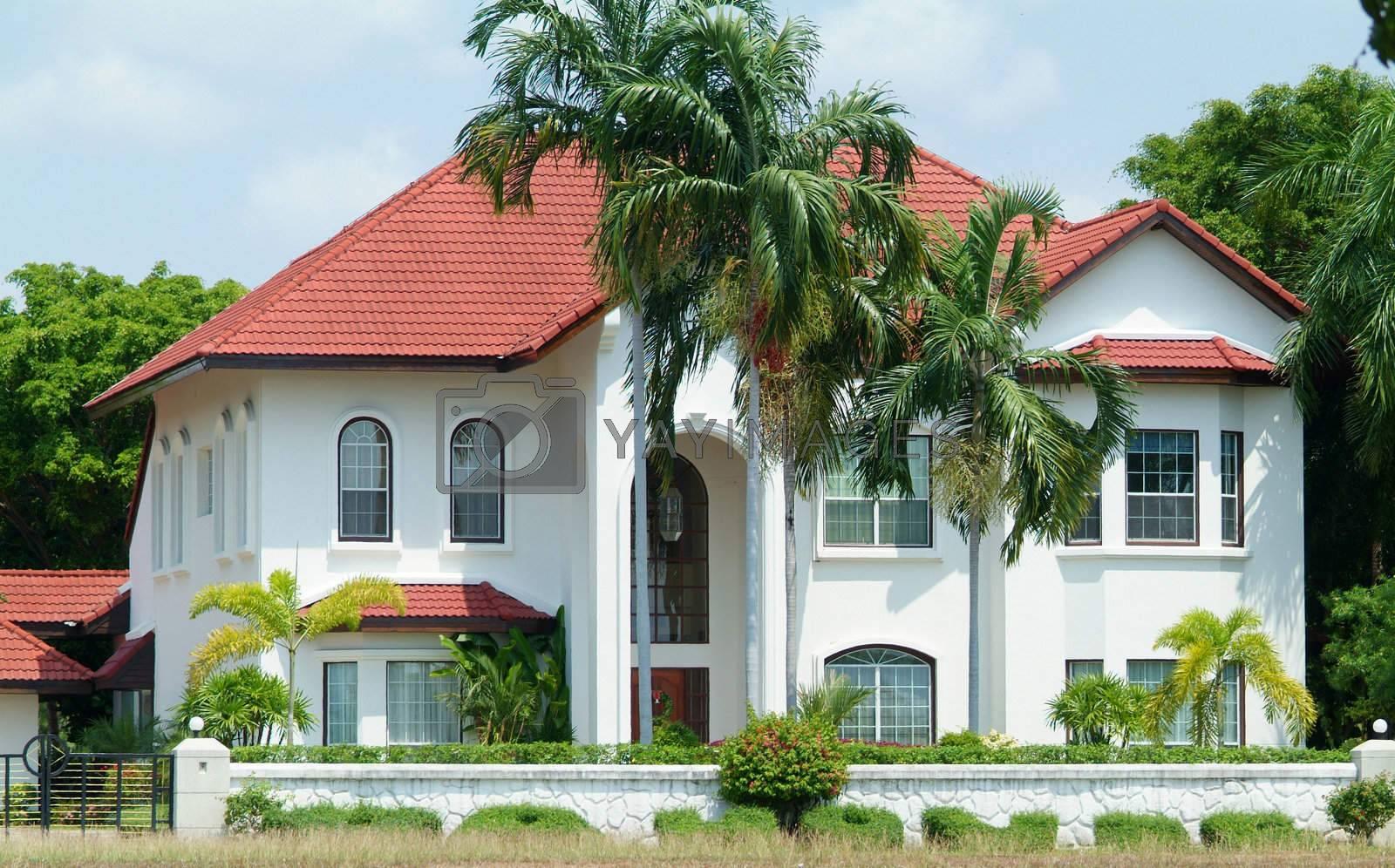 White luxury villa by epixx