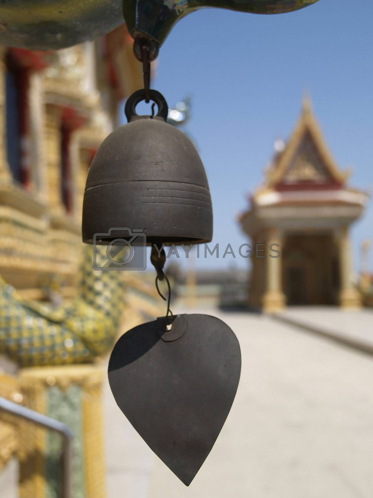 Chime at Buddhist temple by epixx