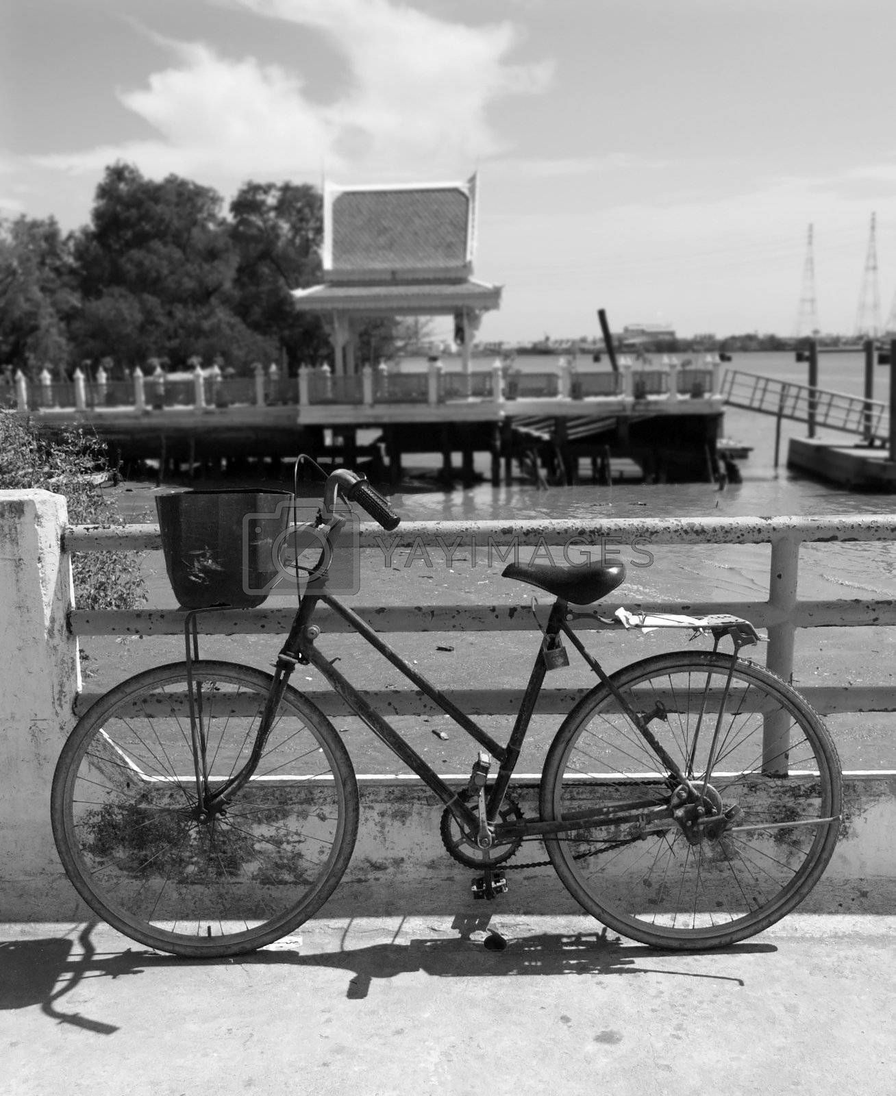 Bicycle by the water by epixx