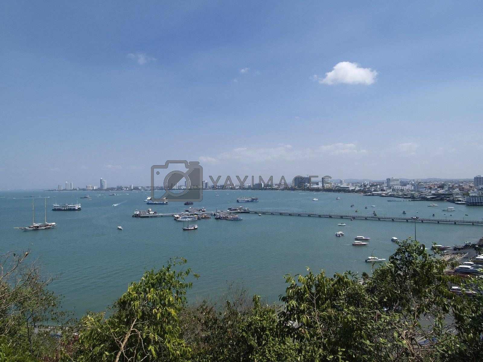 Pattaya City panorama by epixx
