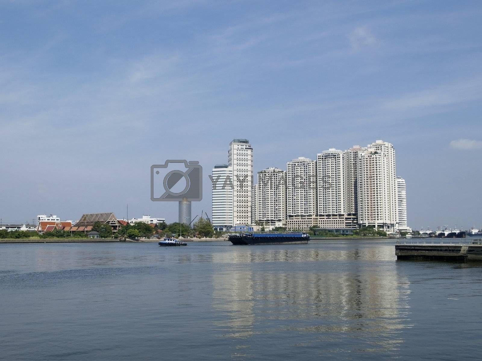 Apartments by the river by epixx
