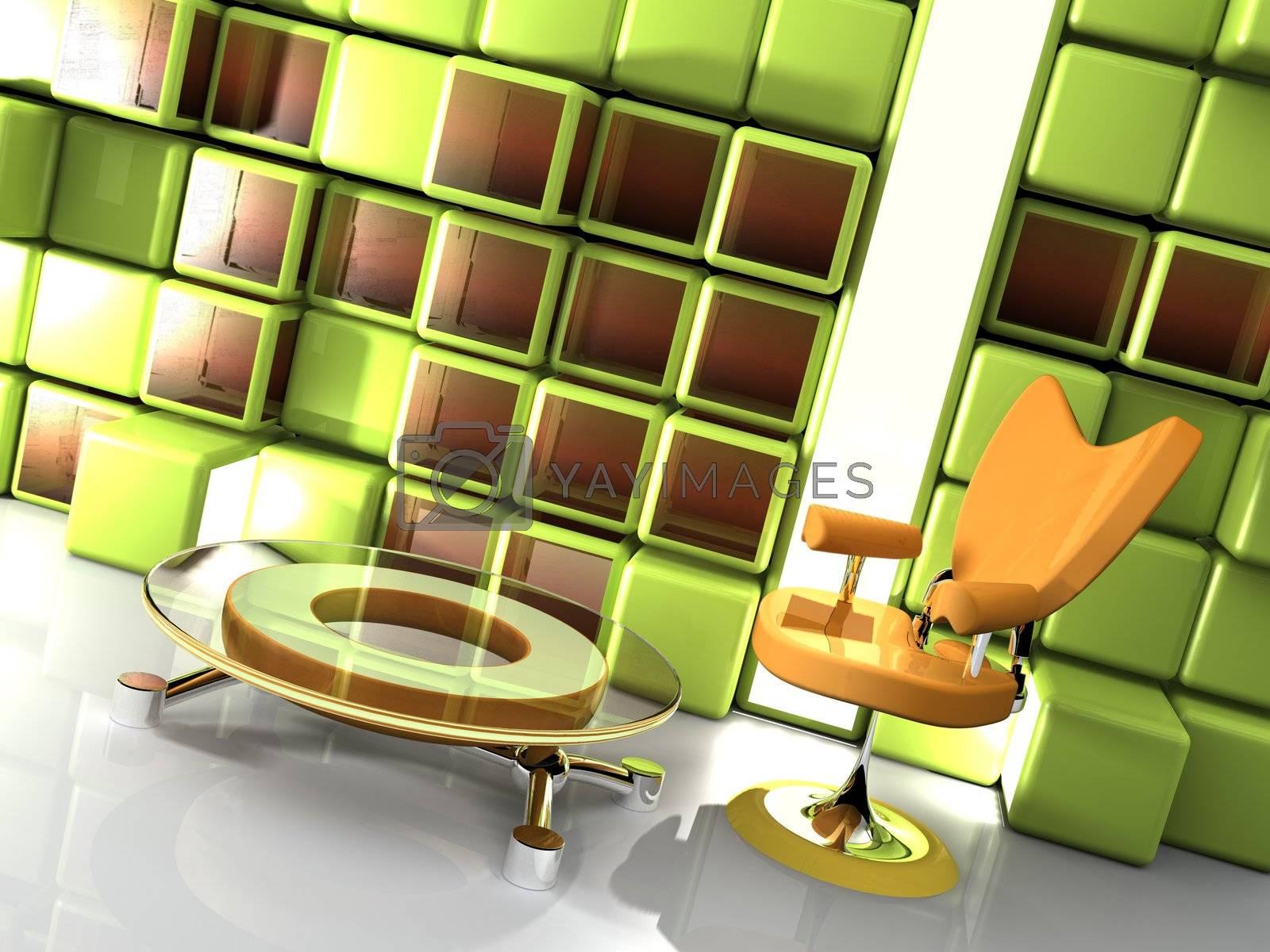 Stylish Interior by 3pod