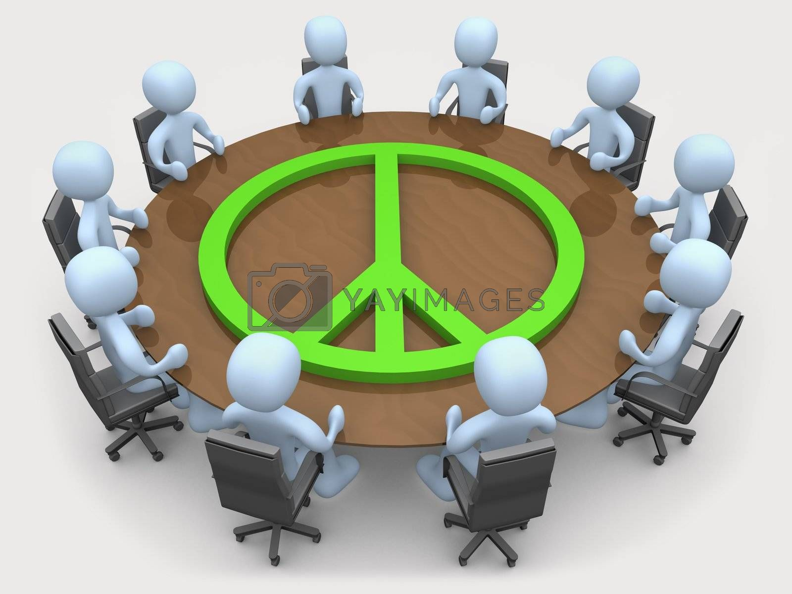 Peace Meeting by 3pod