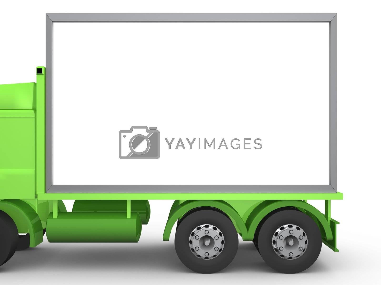 Billboard on Truck by 3pod