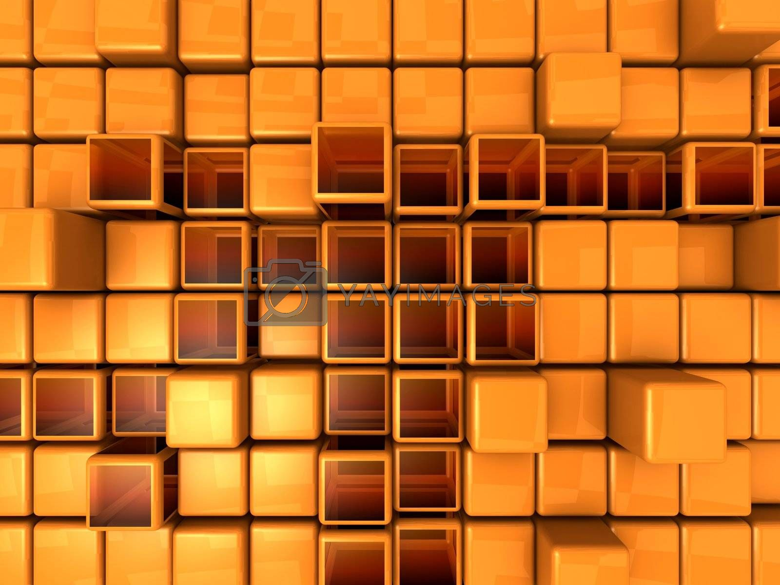 Abstract Background - Cubes by 3pod