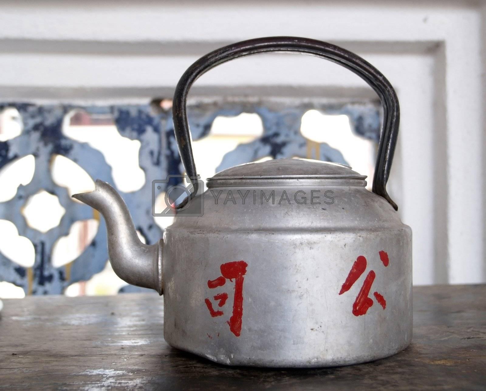 Metal teapot by epixx
