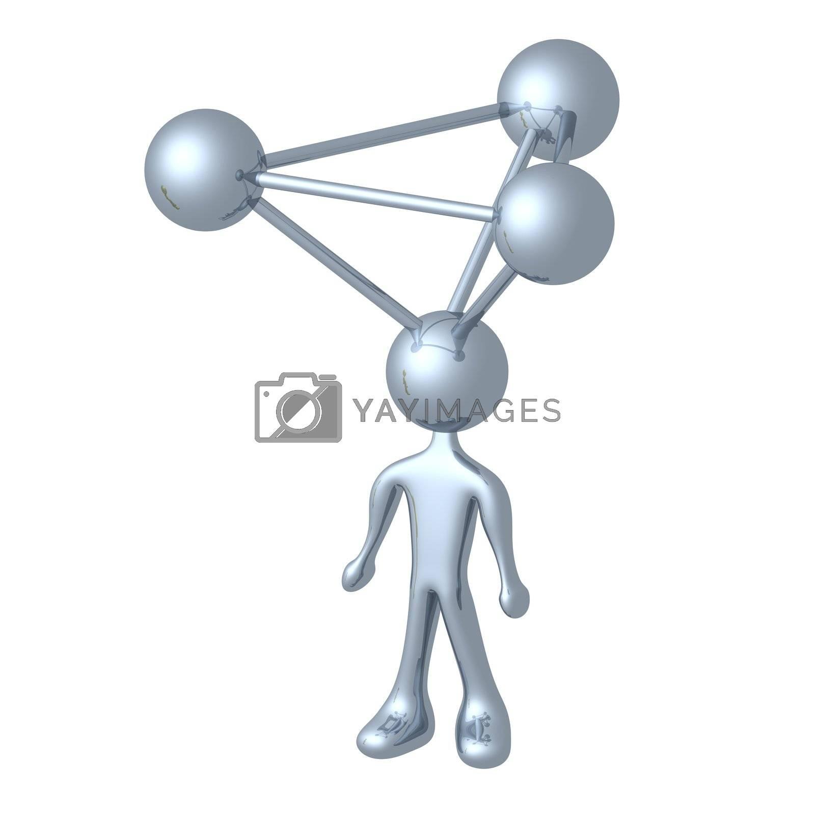 Molecule Person by 3pod