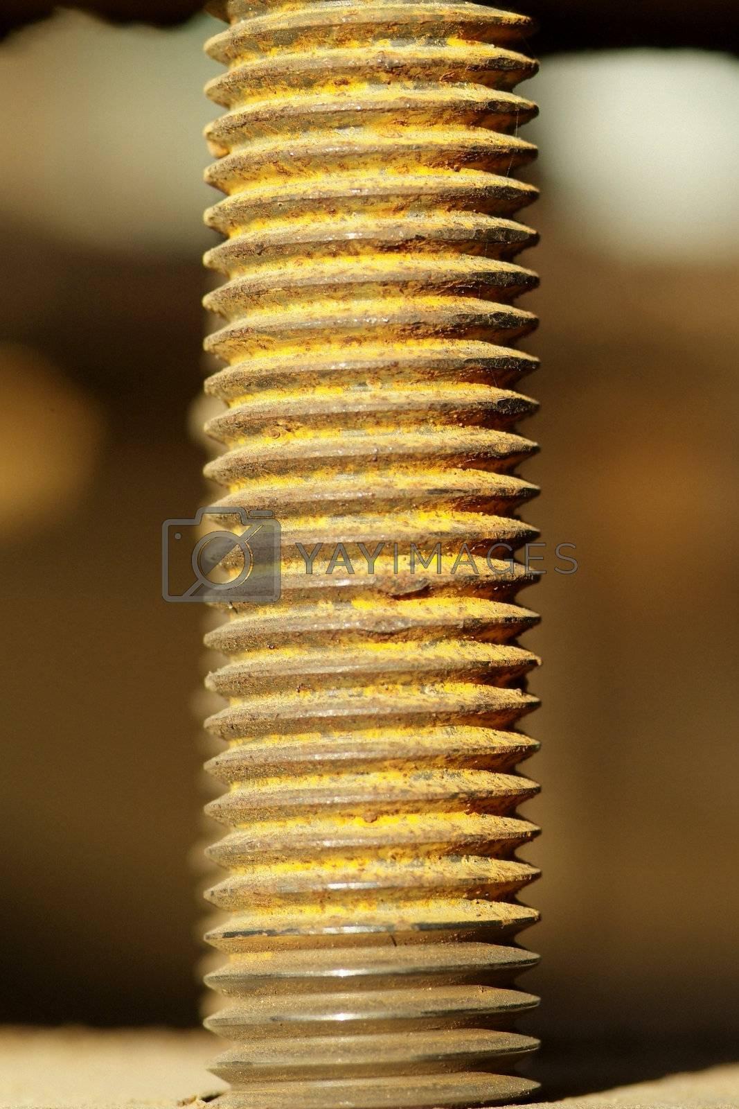 Rusty threads by epixx