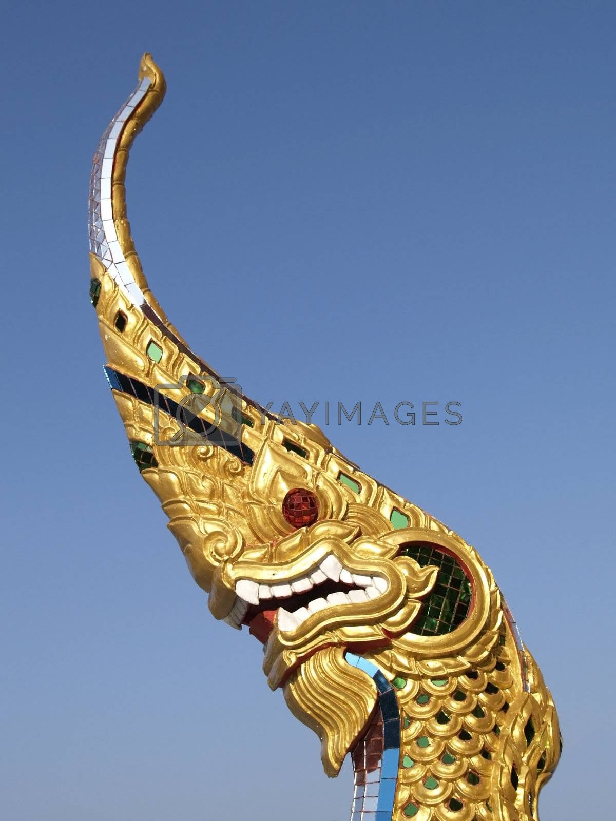 Dragon image from temple by epixx