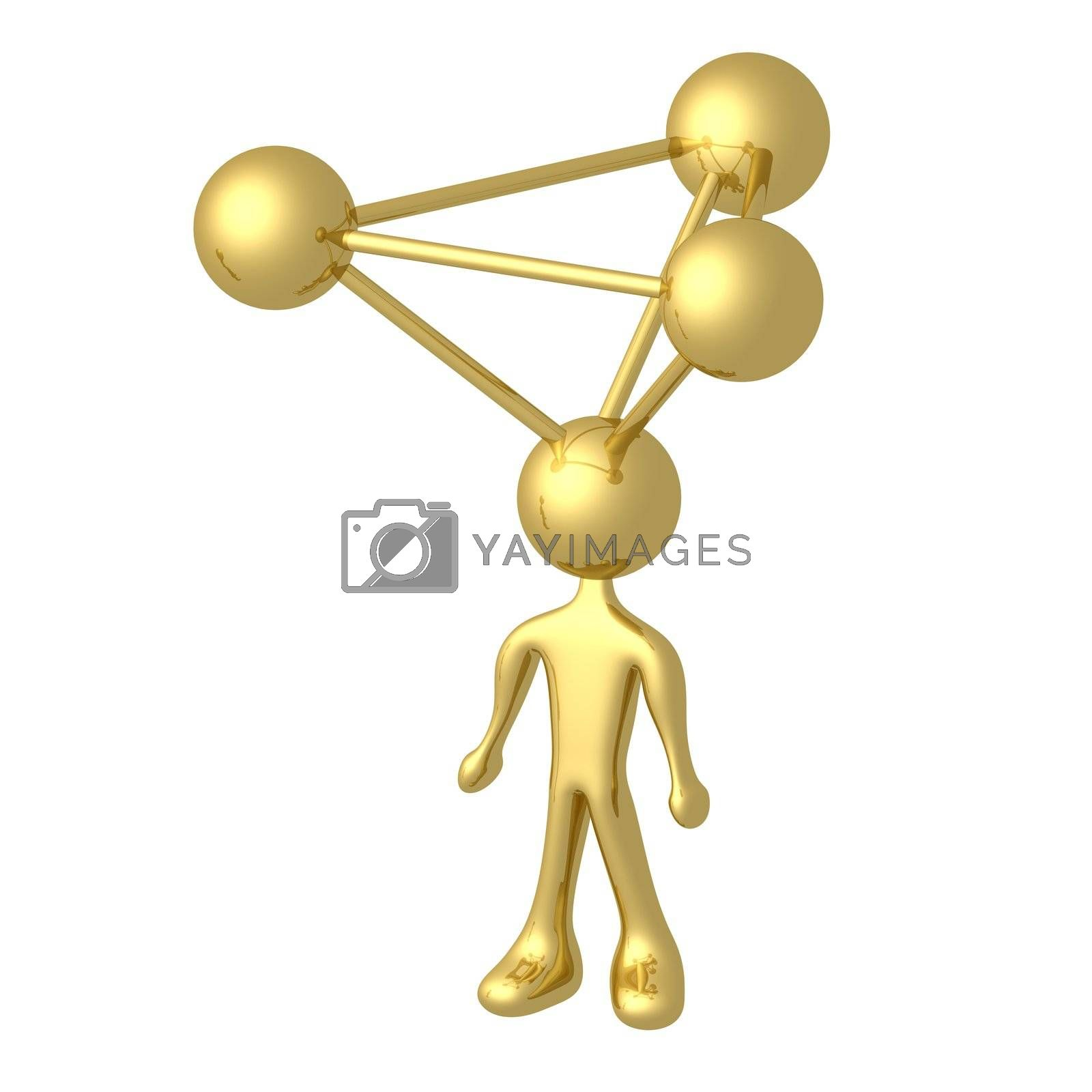 Molecule Person by 3pod