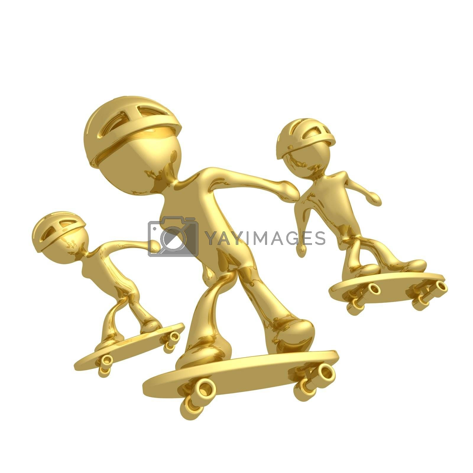 Skaters by 3pod