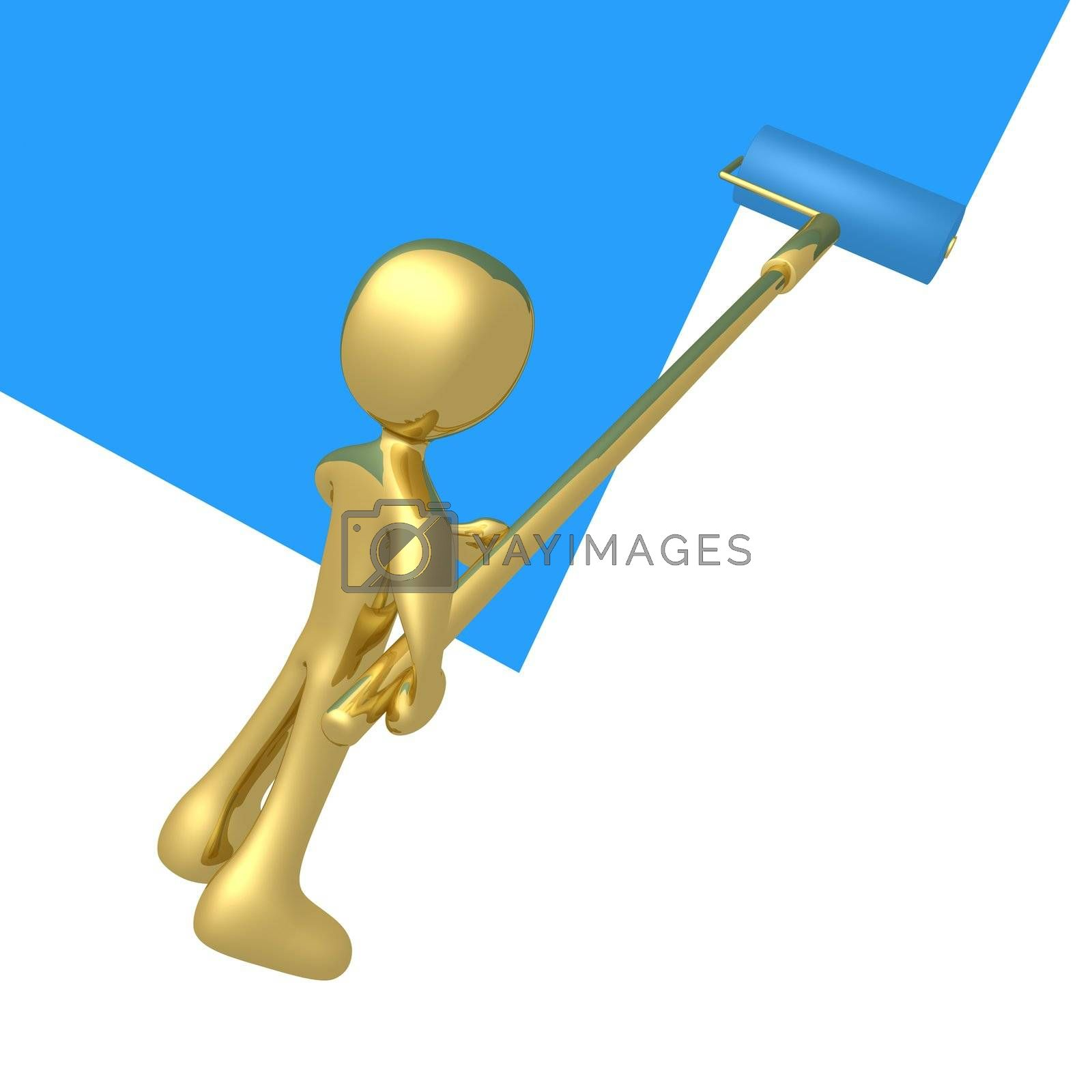 Royalty free image of Painting A Wall by 3pod