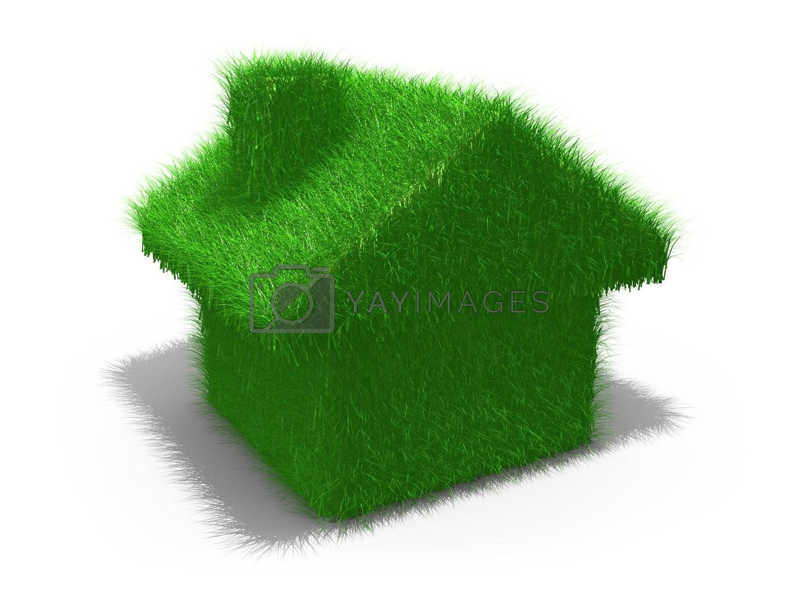 Royalty free image of Green House by 3pod