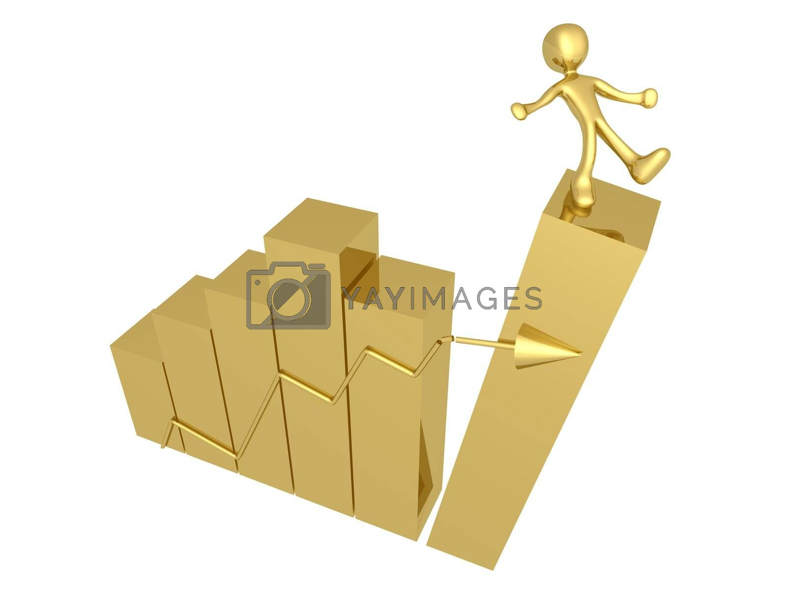 Royalty free image of Risk In Business by 3pod