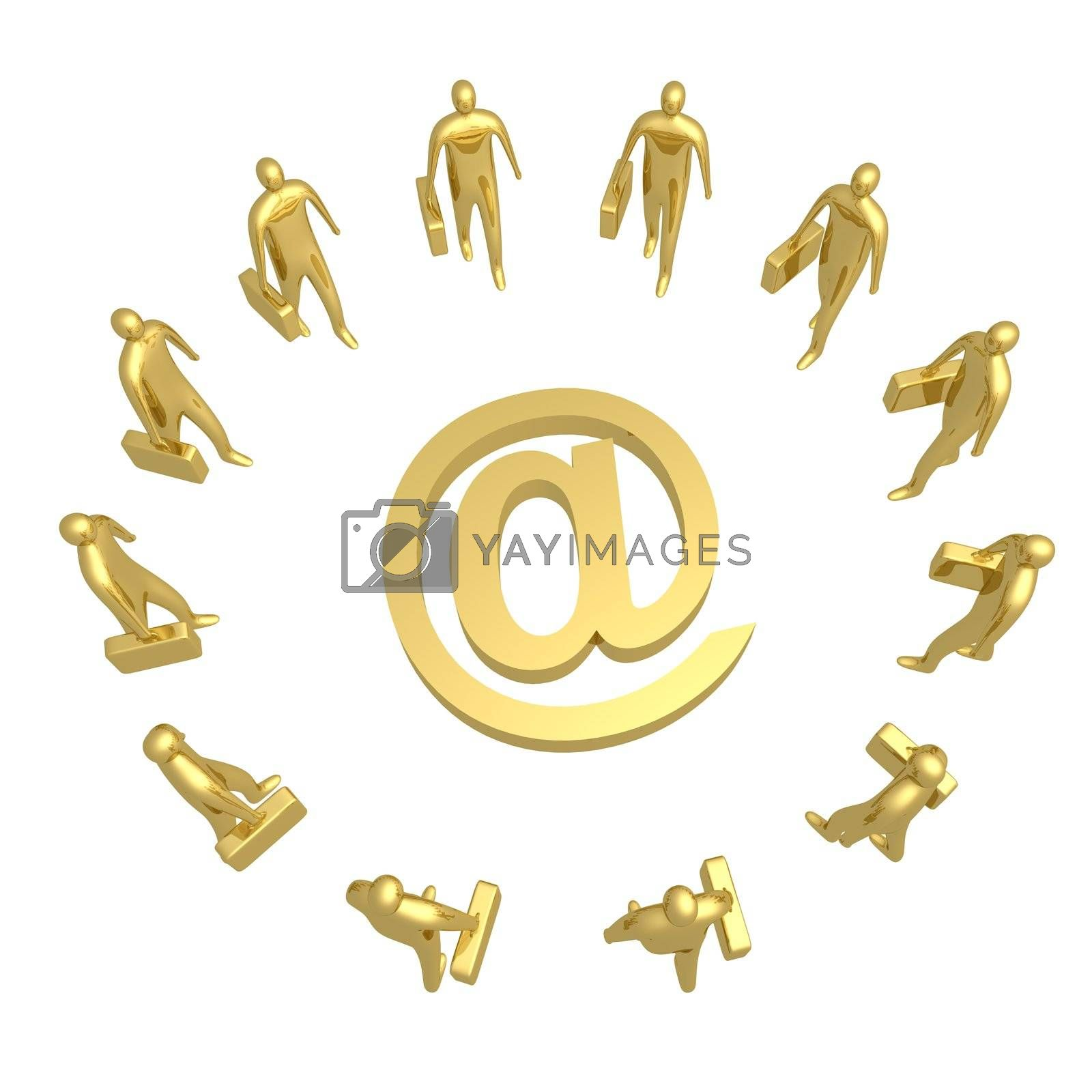 Royalty free image of E-business by 3pod