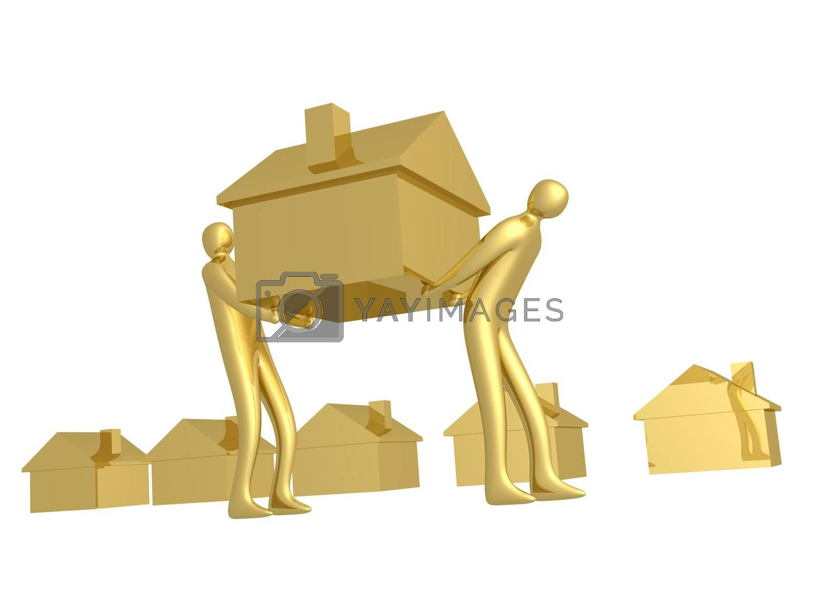 Royalty free image of Home Movers by 3pod