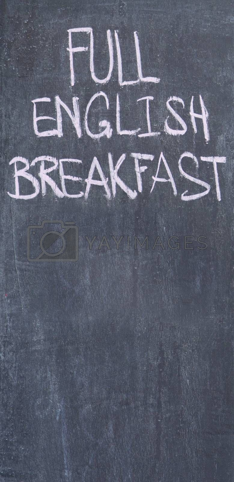 Full English breakfast by epixx