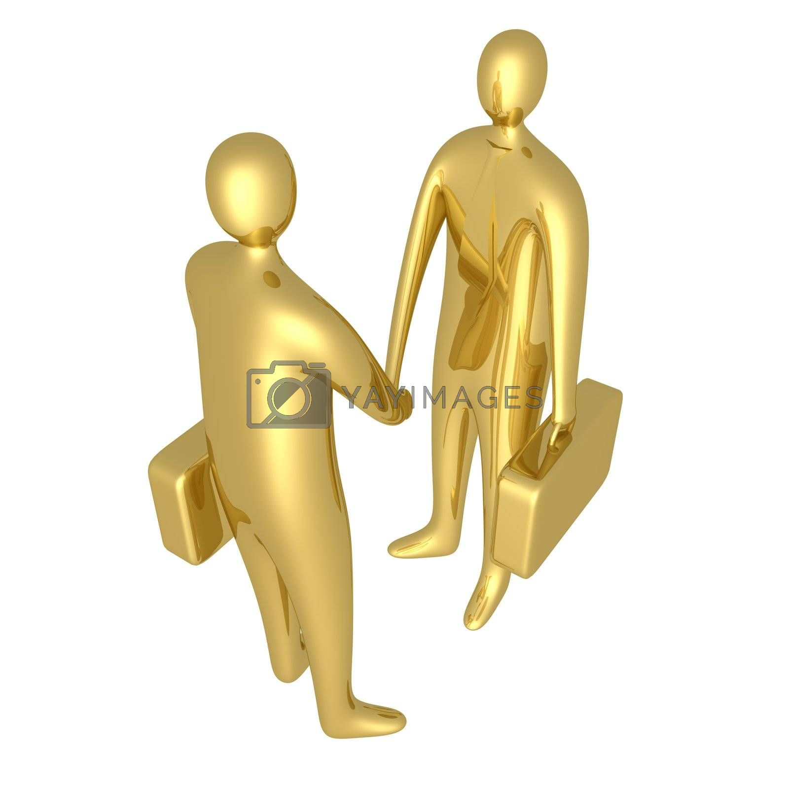 Royalty free image of Business Deal by 3pod
