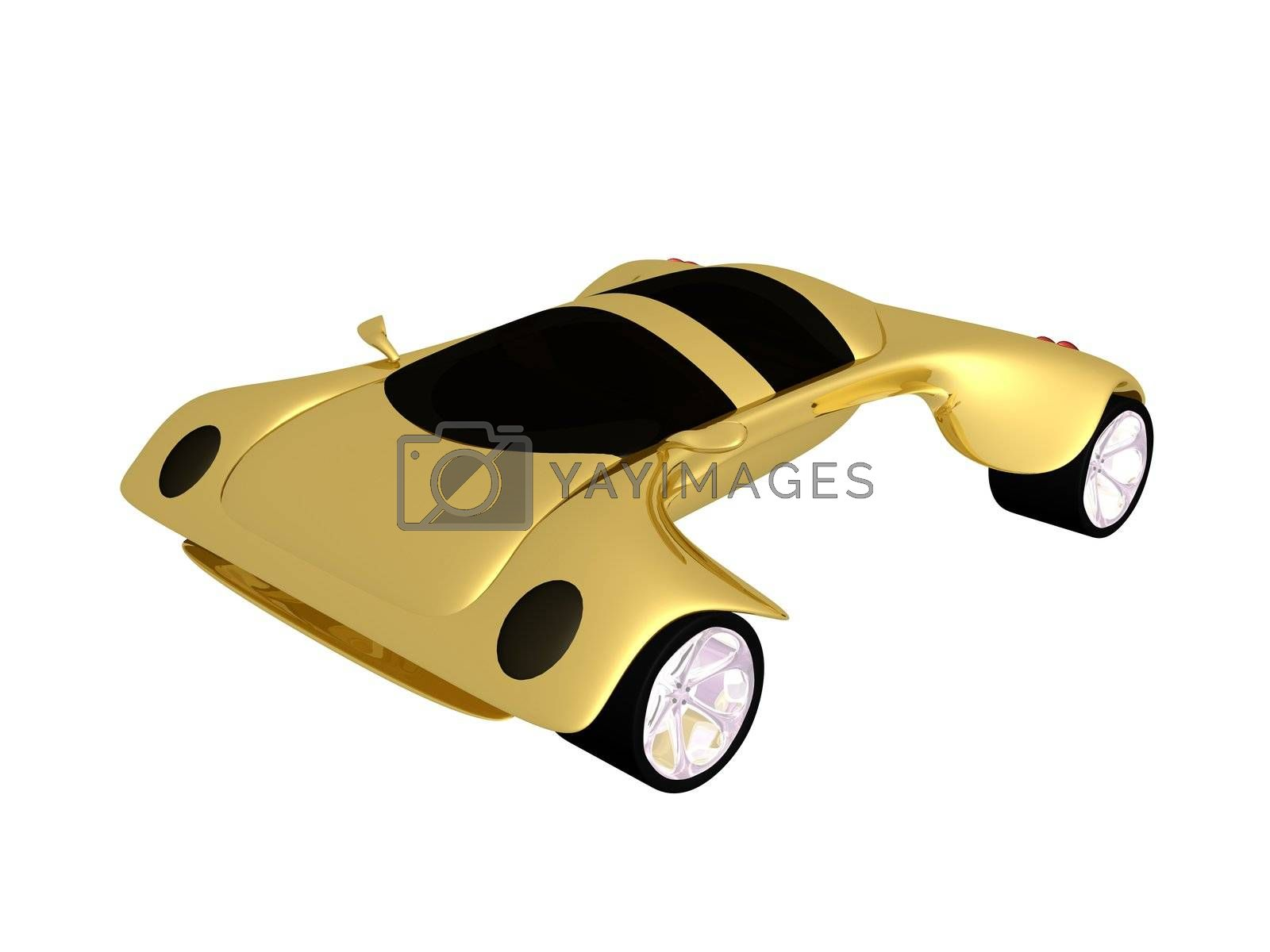 Royalty free image of Concept Car by 3pod
