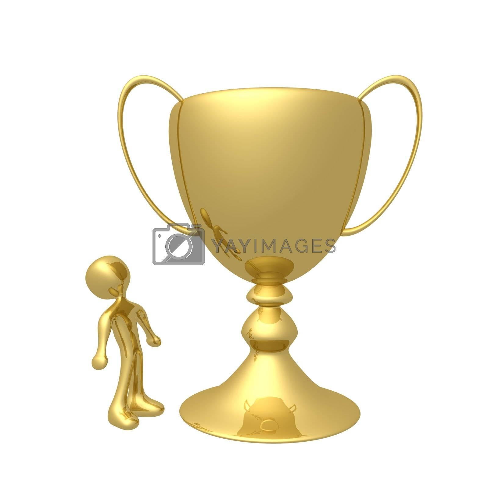 Huge Trophy by 3pod
