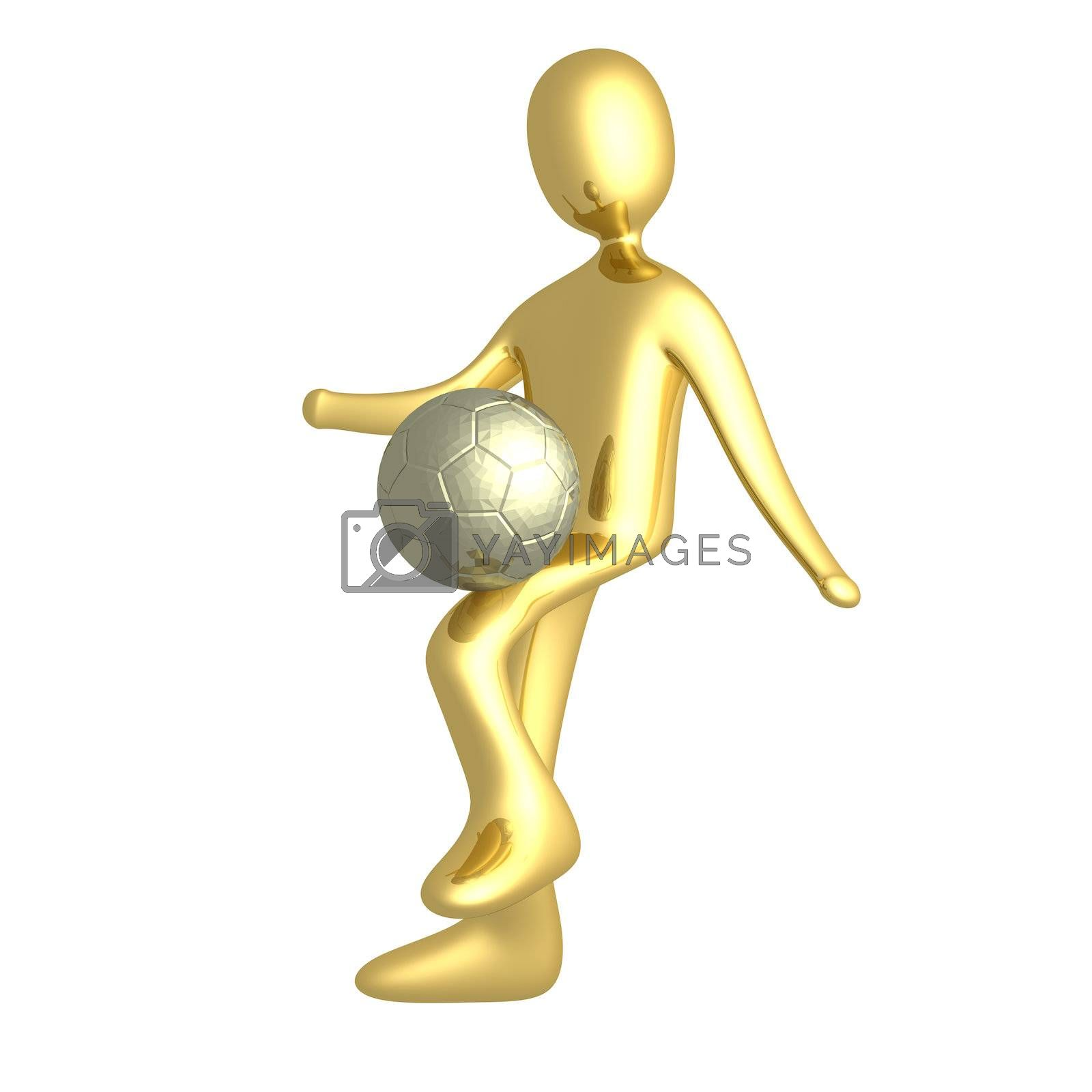 Royalty free image of Football Player by 3pod