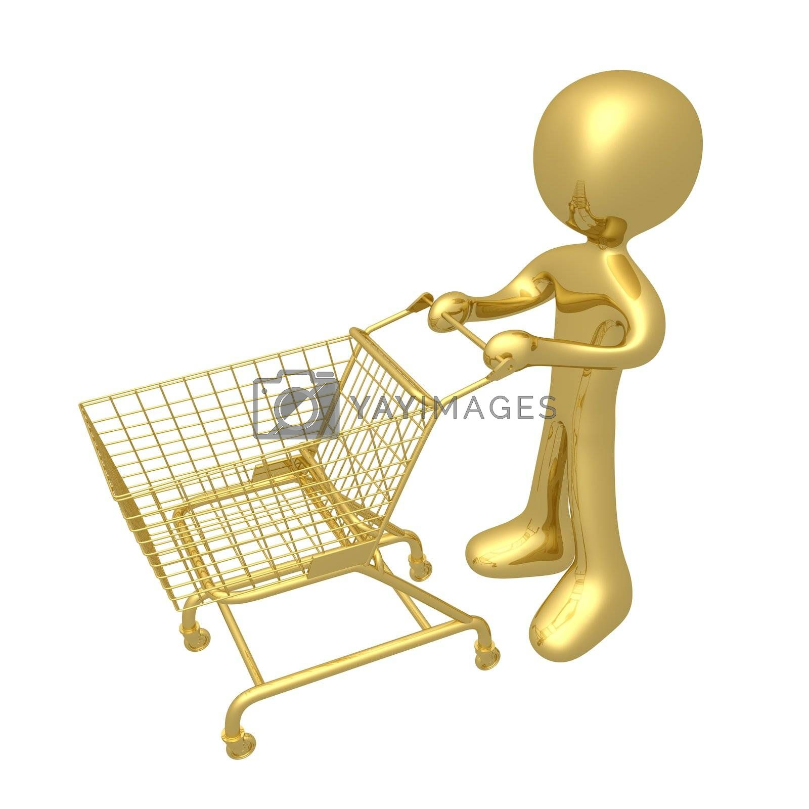 Royalty free image of Shopping Cart by 3pod