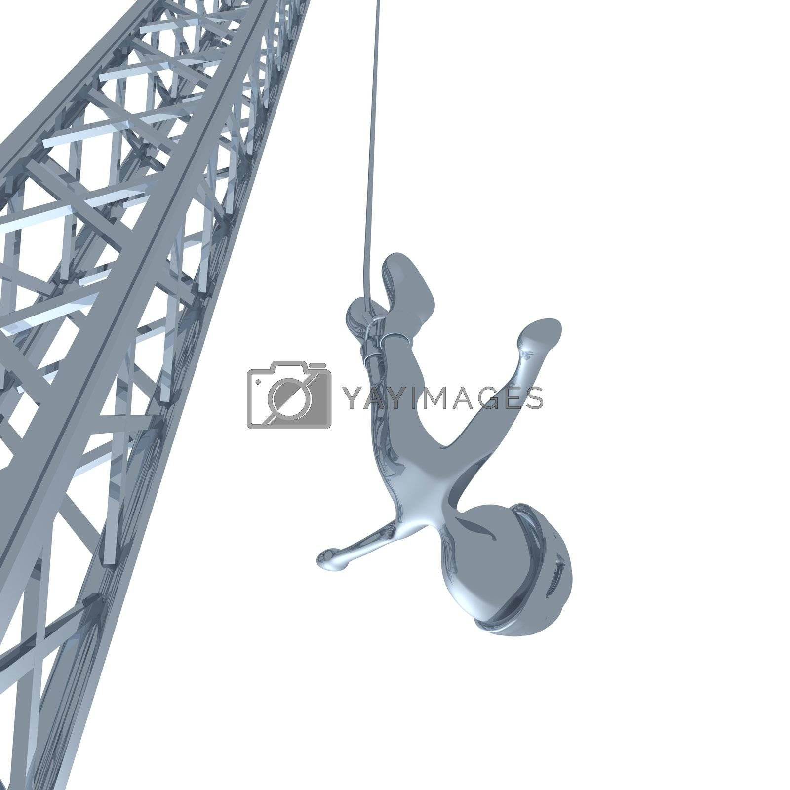 Royalty free image of Bungee Jumping by 3pod