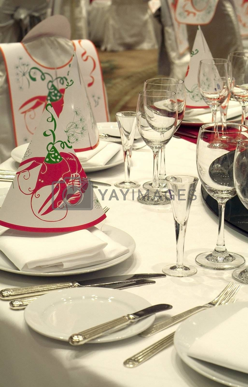 Detail of party table by epixx
