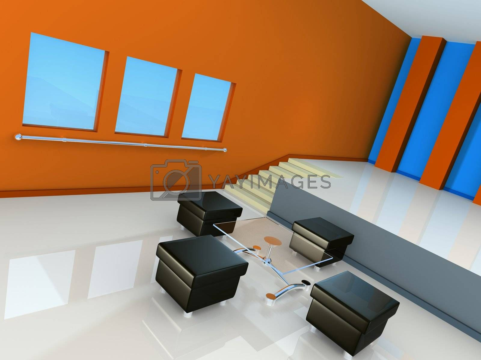 Royalty free image of Modern Interior by 3pod