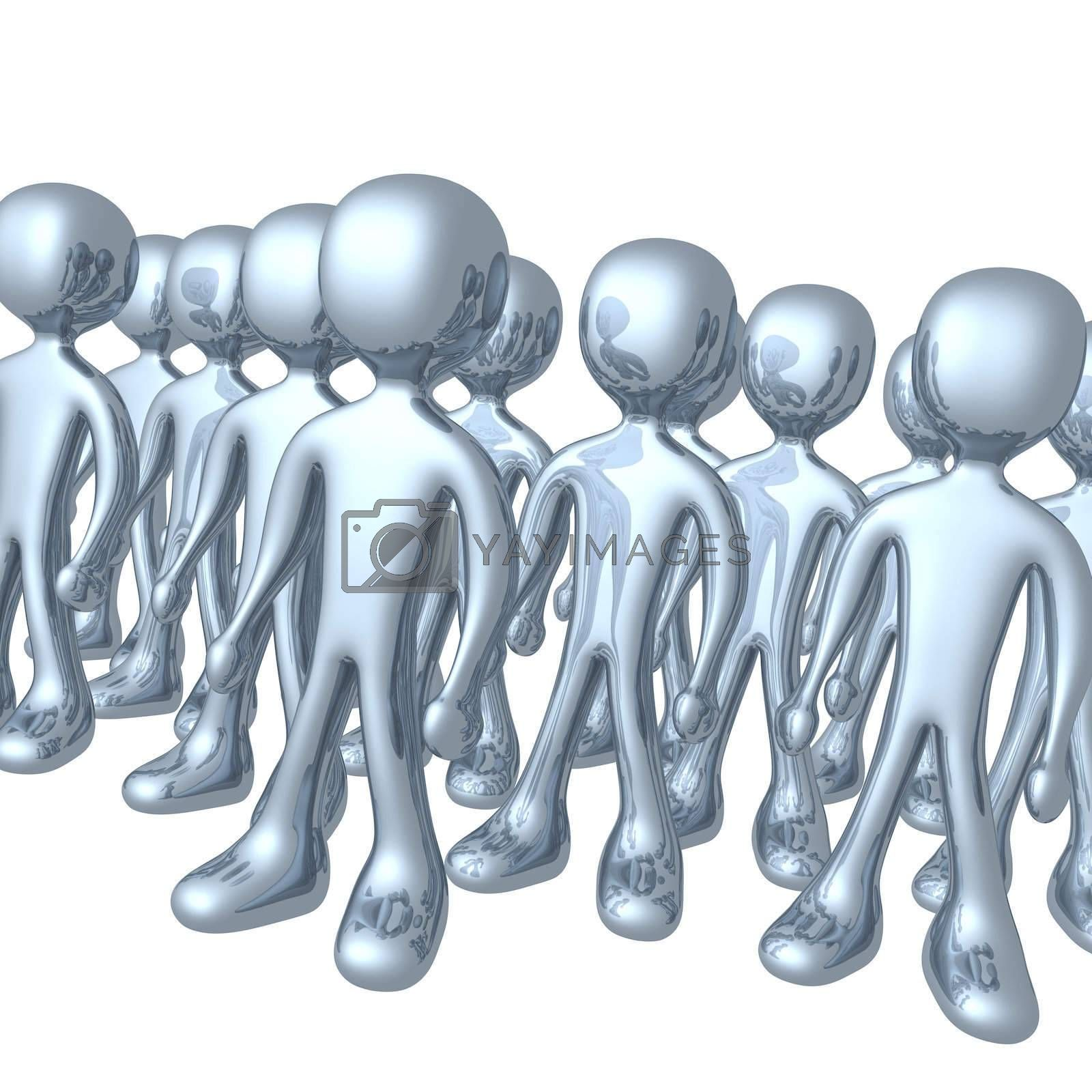 Royalty free image of Group Of People by 3pod