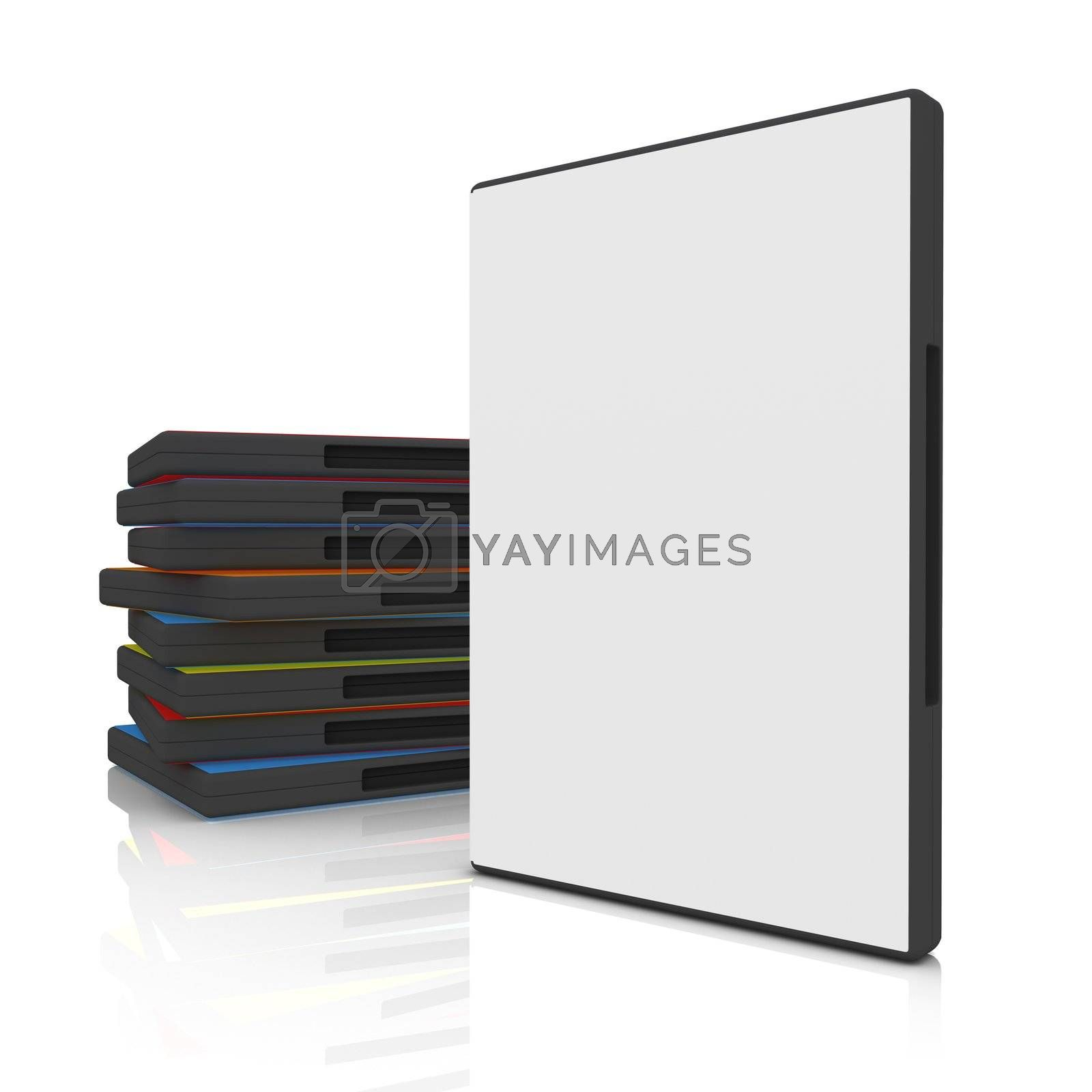 Royalty free image of DVD Case by 3pod