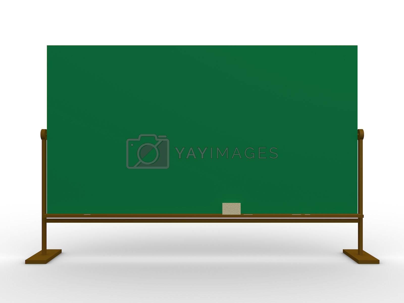 Royalty free image of Blackboard by 3pod