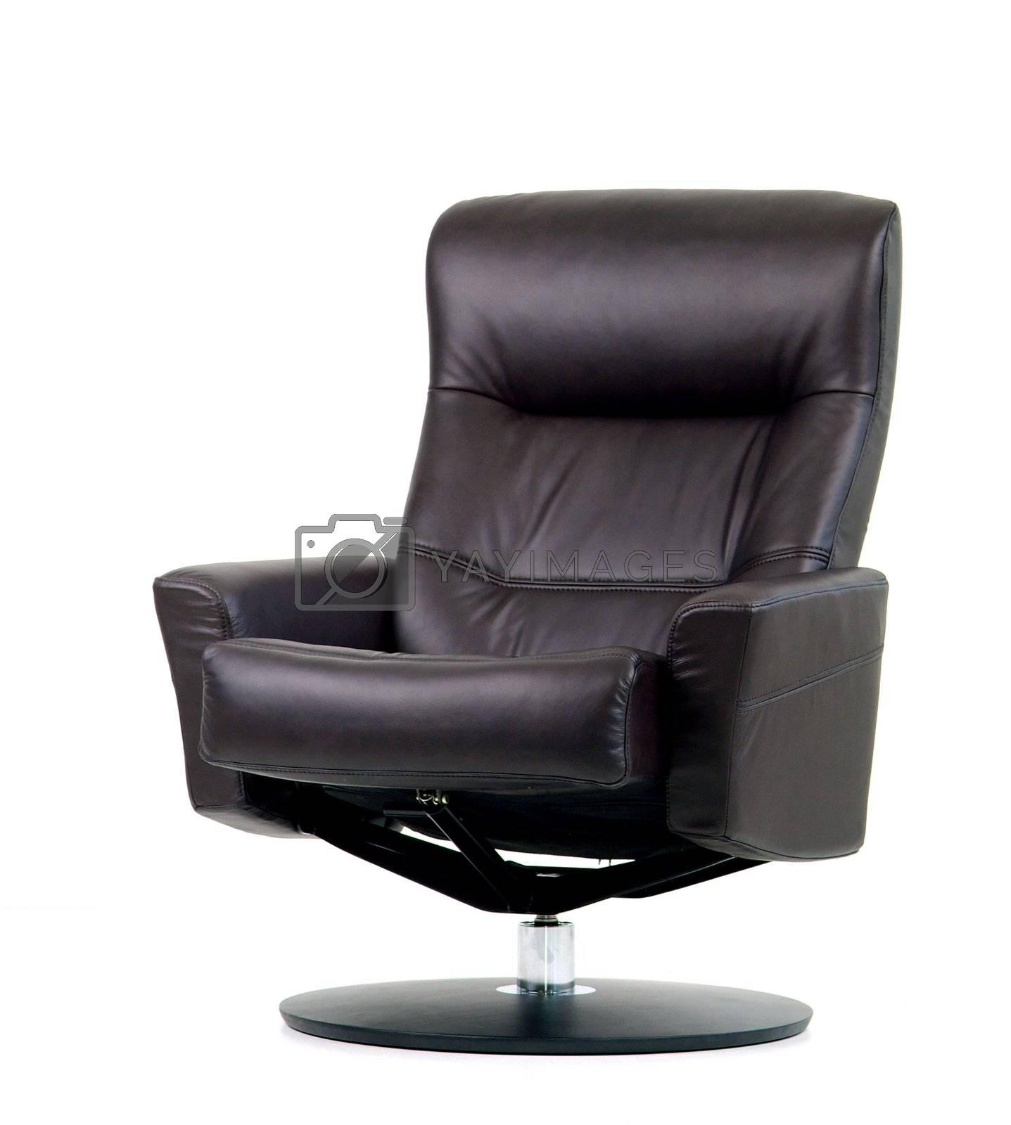 Black swivel recliner by epixx