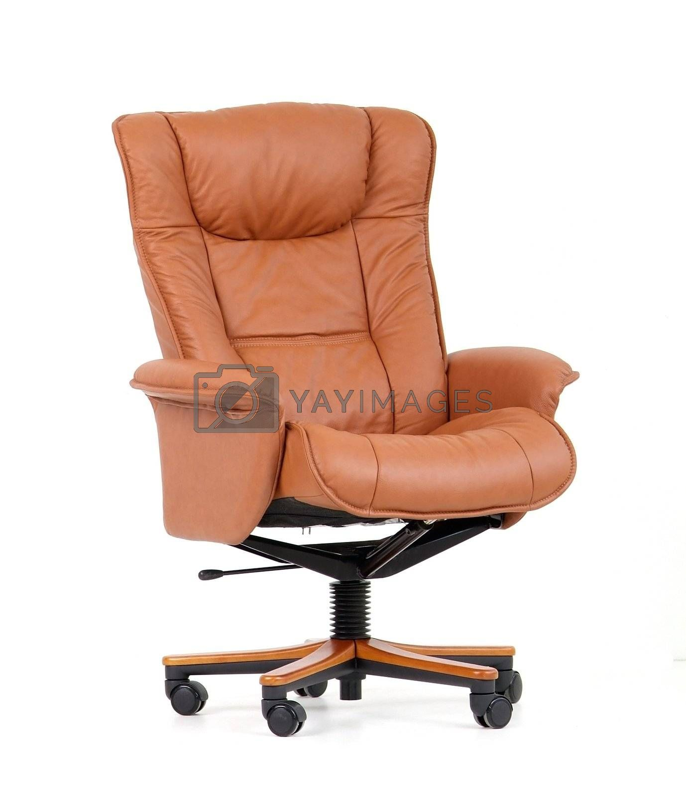 Brown luxury office chair by epixx