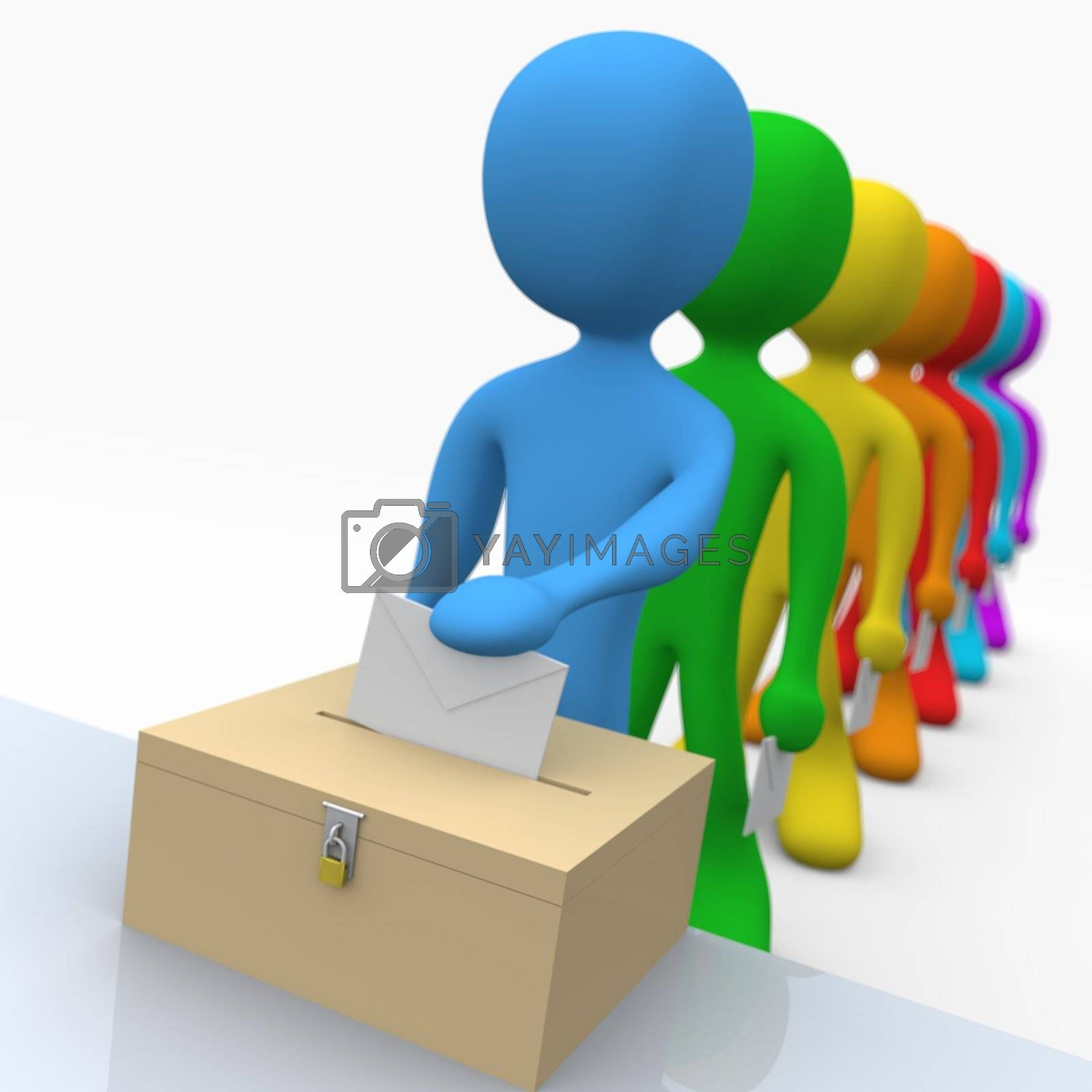 Royalty free image of Voting by 3pod