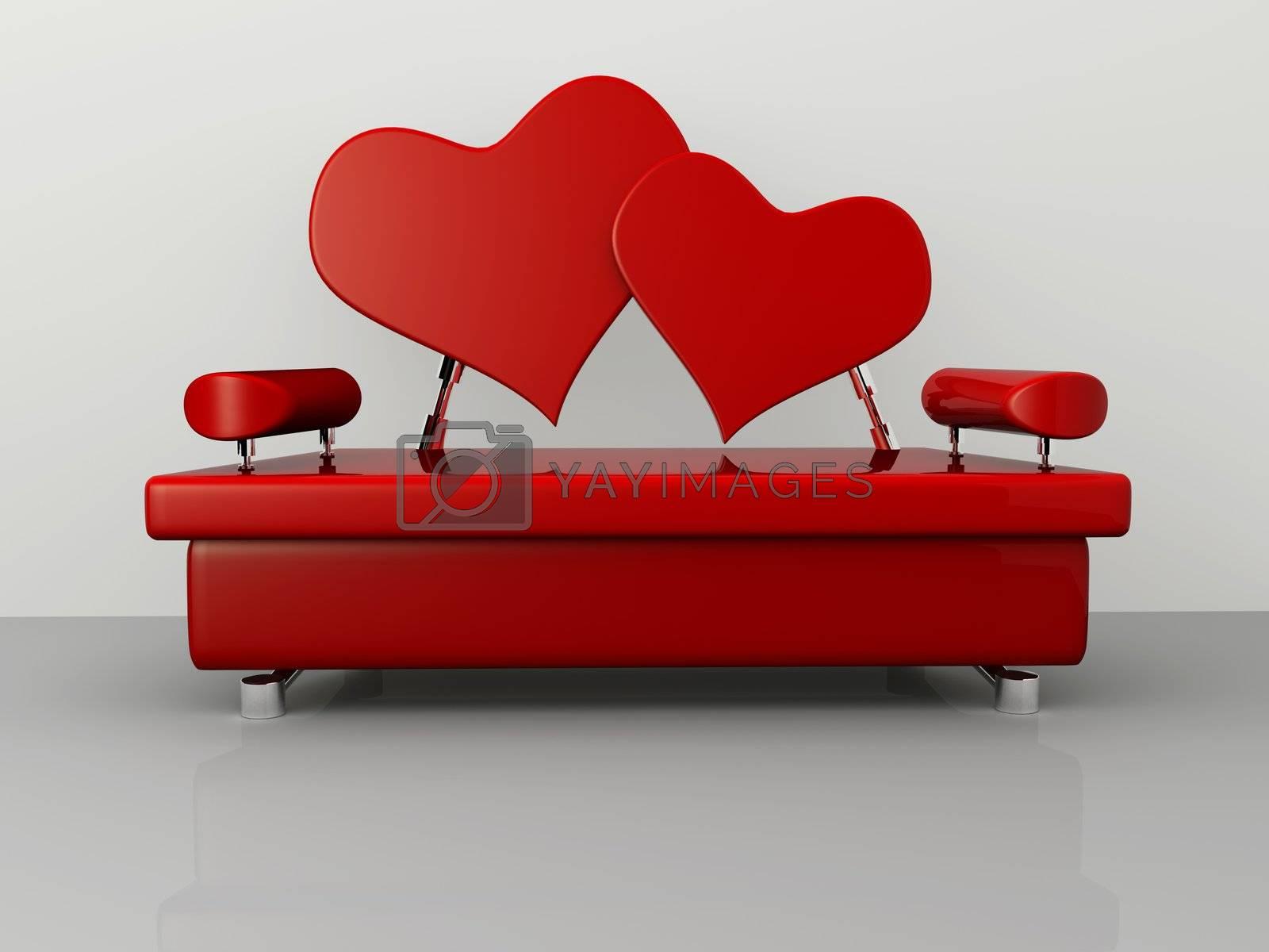 Valentine Sofa by 3pod