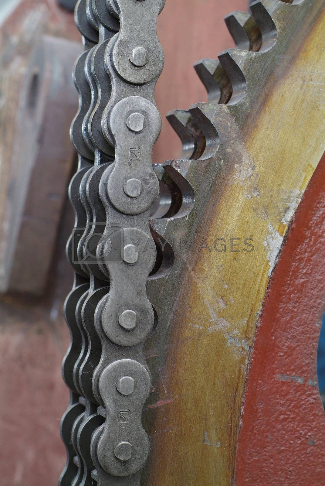 Royalty free image of Chain transmission by epixx