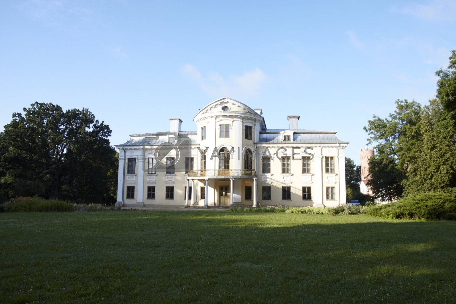 Paezeriai manor. Shot taken in July 2009