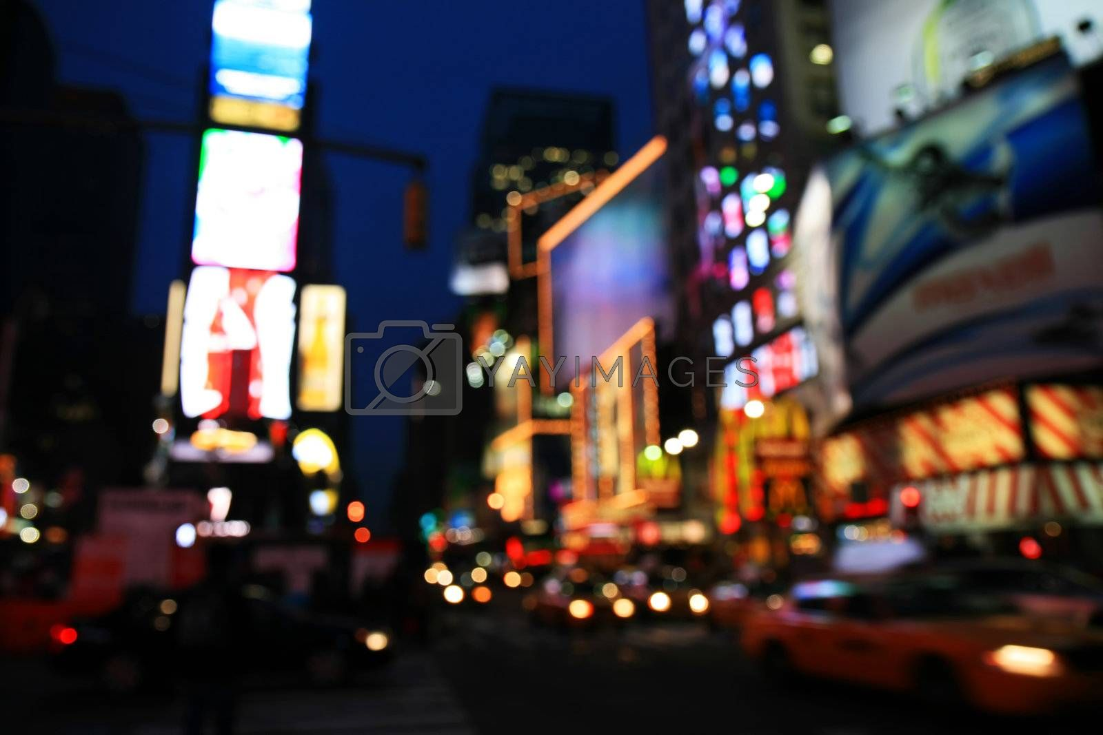 Royalty free image of The Times Square -special effect by gary718